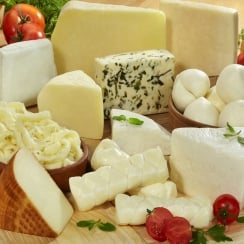 Selection of Cheeses